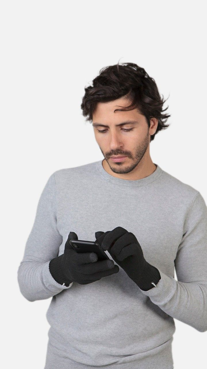 BARTS Fine Knitted Touch Gloves-1