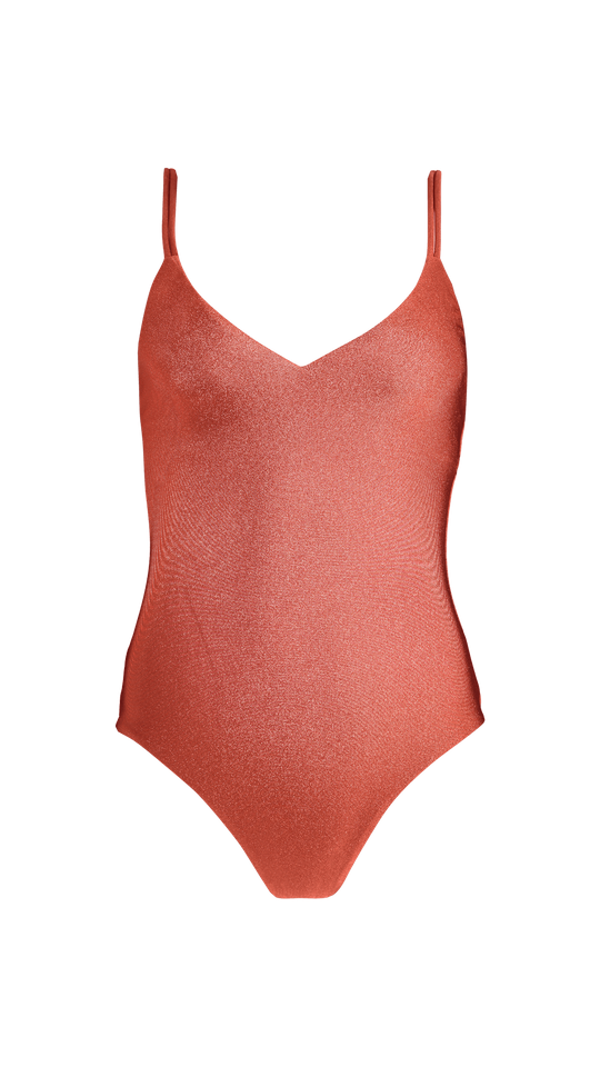 Isla V-Neck One Piece